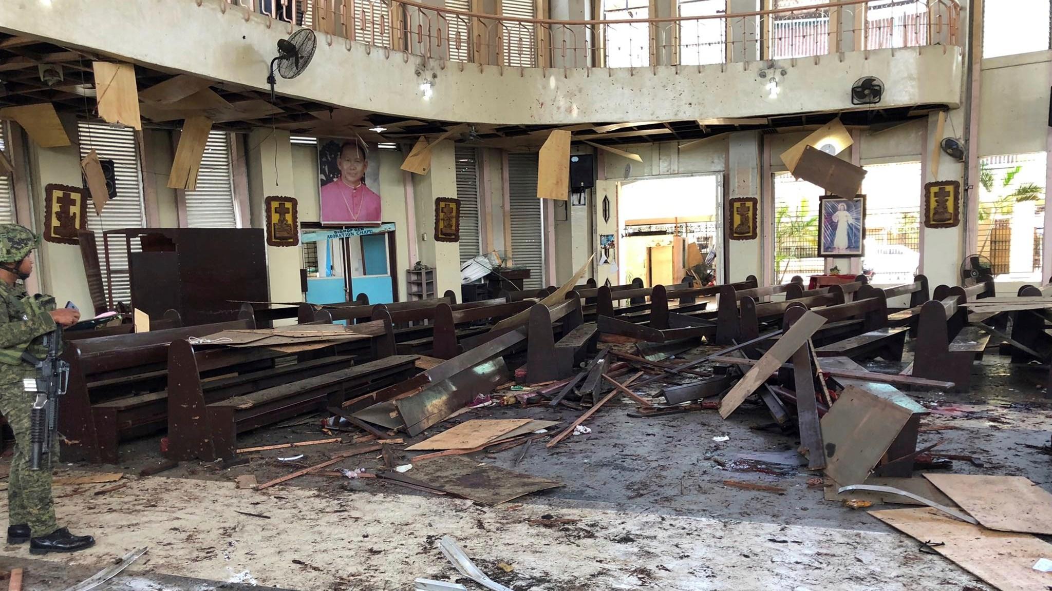 Взрыв во время Мессы: в католическом соборе на Филиппинах произошел теракт