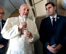 Апостольское путешествие в Панаму: пресс-конференция Папы во время полета (+ ФОТО)