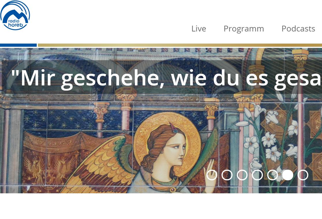 Епископ Иосиф Верт прочитал молитву «Ангел Господень» в прямом эфире немецкой радиостанции