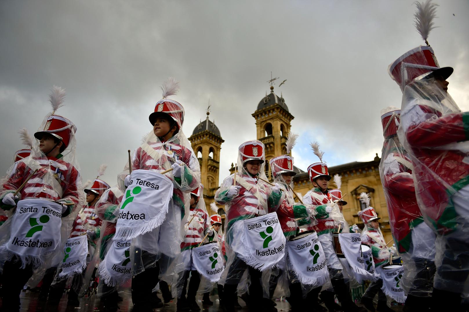 Барабанная дробь в честь святого Себастьяна (ФОТО)