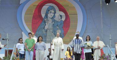 Первая встреча Святейшего Отца с участниками Всемирных Дней Молодежи в Панаме (+ ФОТО)