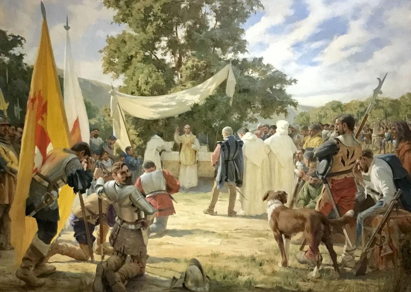 Исполнилось 525 лет со дня совершения первой Мессы на американском континенте