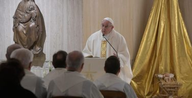 Папа Франциск назвал три признака нелюбви к Богу (ФОТО + ВИДЕО)