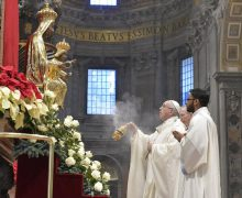 В своей проповеди в торжество Девы Марии Папа Франциск размышлял о тайне Богоматеринства