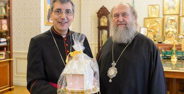 Митрополит Астанайский встретился с председателем конференции католических епископов Казахстана