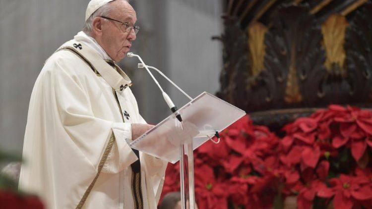 В своей проповеди на Мессе Богоявления Папа Франциск размышлял о Свете Господнем