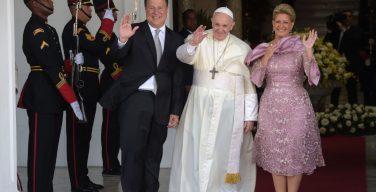 Апостольский визит в Панаму: встречи с властями, дипломатическим корпусом и представителями общественности (+ ФОТО)