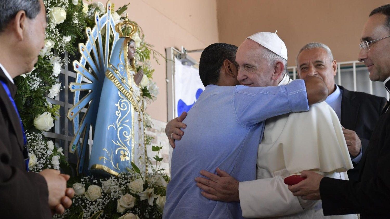 Папа в Панаме посетил ВИЧ-инфицированных и больных СПИДом (+ ФОТО)