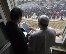 Папа открыл свой профиль в приложении «Click To Pray»