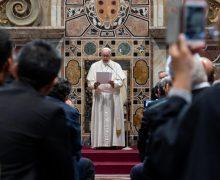 Папа: Святейший Престол будет продолжать помогать Украине (ФОТО + ВИДЕО)
