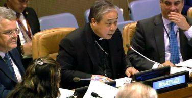 Ватикан призвал к диалогу Палестину и Израиль