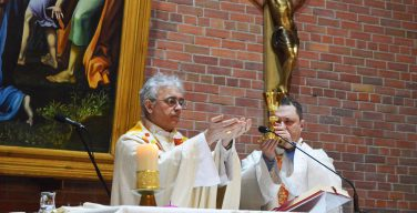 11 февраля в Кафедральном соборе Новосибирска отметили три важных события (+ ФОТО)