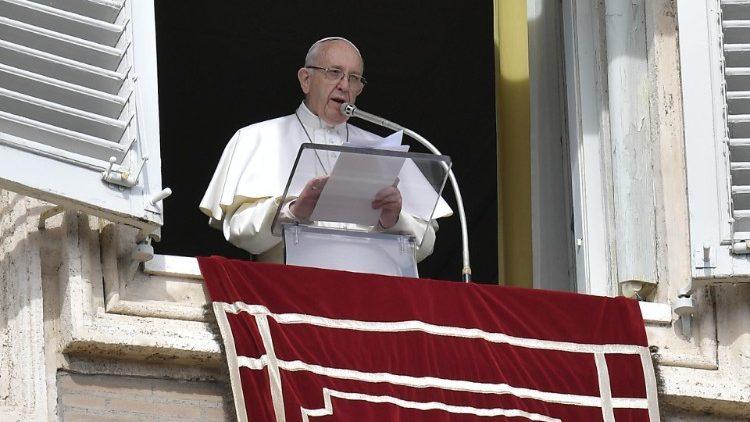 Слово Папы Франциска перед чтением молитвы «Ангел Господень» в 6-е Рядовое воскресенье. 17 февраля 2019 г., площадь Св. Петра