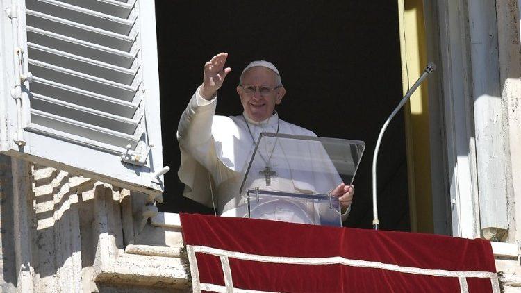 Слово Папы Франциска перед чтением молитвы «Ангел Господень» в 7-е Рядовое воскресенье. 24 февраля 2019 г., площадь Св. Петра