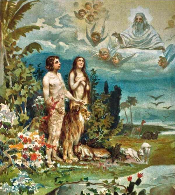Рай библейский картинки