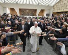 На общей аудиенции в среду 20 февраля Папа Франциск продолжил разбор молитвы «Отче наш»