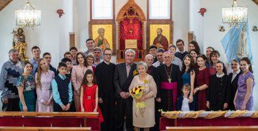 Владыка Иосиф Верт побывал на «золотой свадьбе» у немцев-католиков (+ ФОТО)