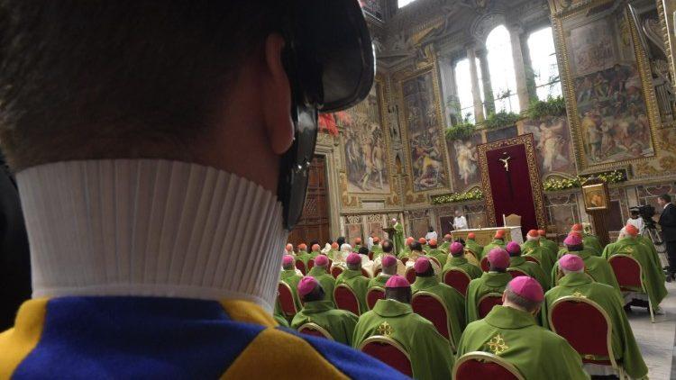 Слово Папы Франциска на Мессе, завершившей встречу «Защита несовершеннолетних в Церкви»