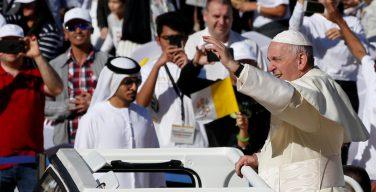 Поездка Папы Франциска в ОАЭ за 60 секунд (ВИДЕО)