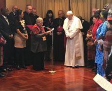 Папа встретился с представителями коренных народов
