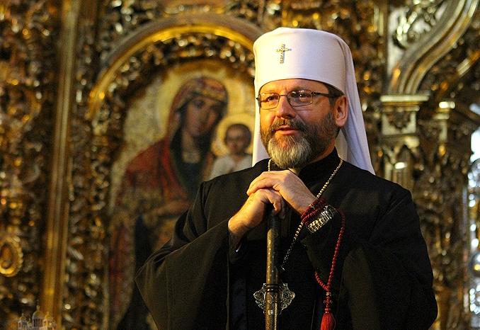 Предстоятель УГКЦ совершит Божественную Литургию в Софии Киевской