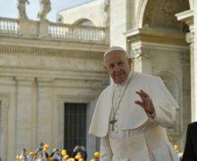 На общей аудиенции Папа Франциск прокомментировал воззвание «да будет воля Твоя»