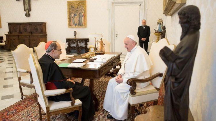 Папа не принял отставку кардинала Барбарена