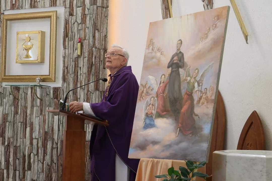 Католики Кемерова помянули жертв пожара ТЦ «Зимняя вишня» в годовщину их трагической гибели