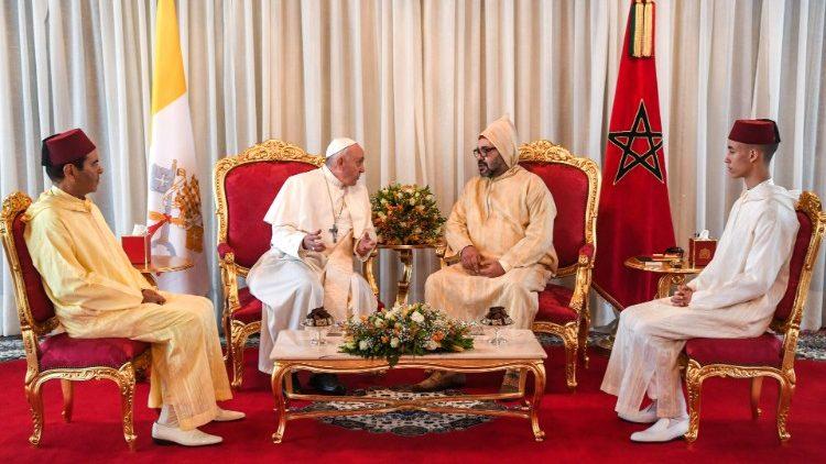 Папа Франциск в Марокко: 28-е Апостольское путешествие Понтифика началось