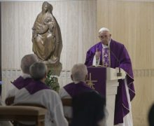 На Мессе в Доме Св. Марфы Папа Франциск призвал не осуждать ближних, а прощать