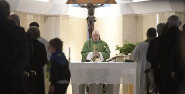 На Мессе в Доме Св. Марфы Папа Франциск говорил о гневе Божием