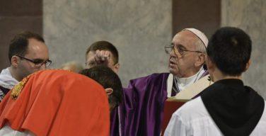 По традиции начало Великого Поста в Риме ознаменовалось Папским богослужением на Авентинском холме