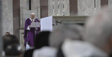 Проповедь Папы Франциска в Пепельную среду. 6 марта 2019 г., базилика Св. Сабины на Авентинском холме