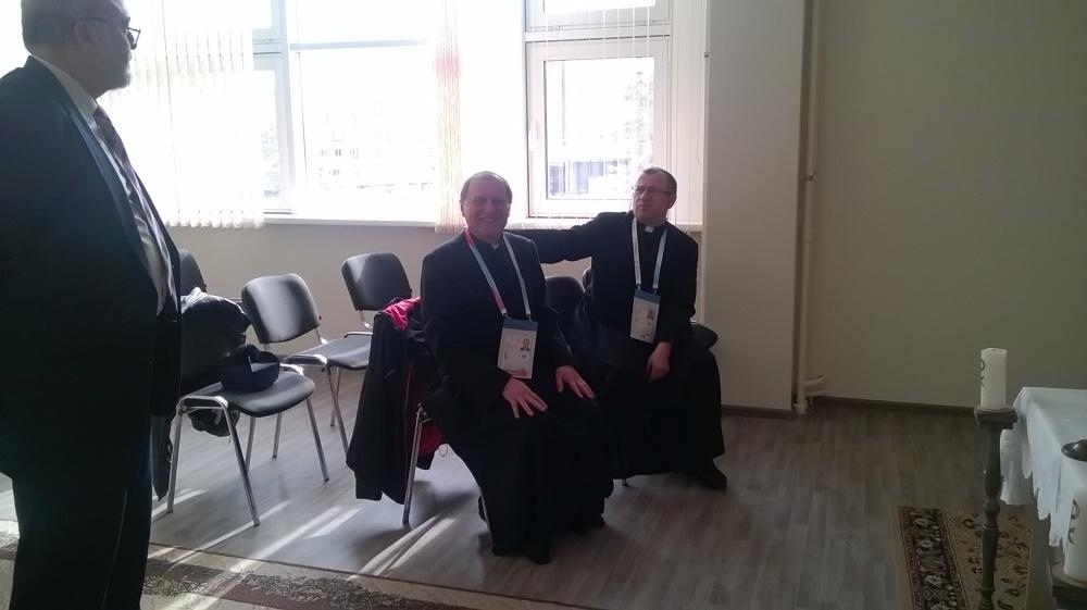 Красноярск: в деревне Универсиады-2019 заработал Центр религий. В нем представлено семь конфессий, включая католичество