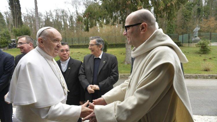 Великопостные реколлекции для Папы и сотрудников Римской Курии завершились