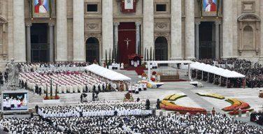 27 апреля — пятая годовщина канонизации Иоанна XXIII и Иоанна Павла II