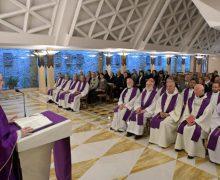 Папа на Мессе в Доме Святой Марфы размышлял о феномене духовной усталости
