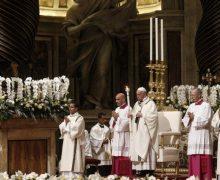 Проповедь Папы Франциска на Мессе Навечерия Пасхи. 21 апреля 2019 г., собор Святого Петра