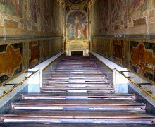 В преддверии Страстной седмицы в Риме отреставрировали «Святую Лестницу»