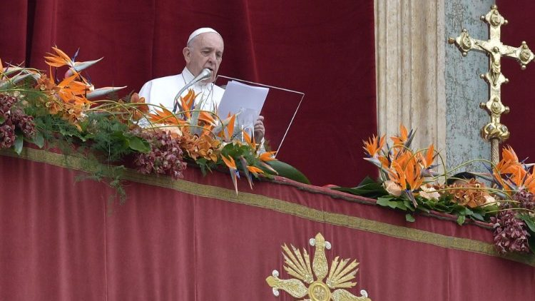 Пасхальное послание Urbi et Orbi Святейшего Отца Франциска