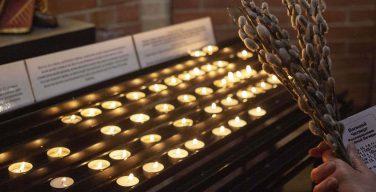 Вербное воскресенье в главном храме Преображенской епархии (ФОТО)