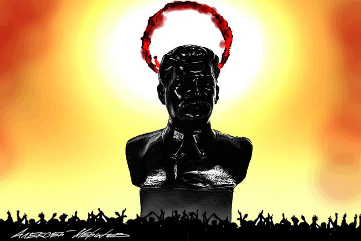 Нужен ли нам праздник Пасхи или Бога россиянам заменяет Сталин? (Точка зрения православного клирика)