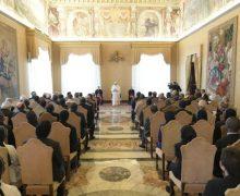 Папа Франциск встретился с трудящимися в Африке миссионерами