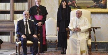Папа Франциск принял делегации из Болгарии и Северной Македонии по случаю празднования дня Святых Кирилла и Мефодия