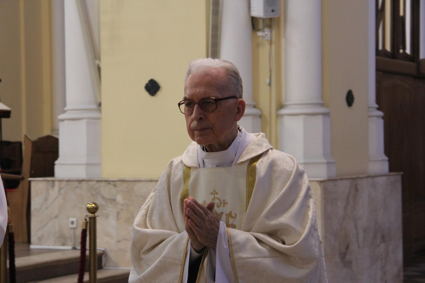 В Москве отпраздновали 60-летие священства монаха-салезианца