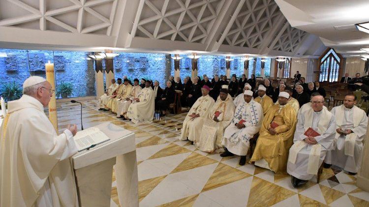Папа Франциск на Мессе в Доме Святой Марфы размышлял об обращении Савла, ставшего апостолом Павлом