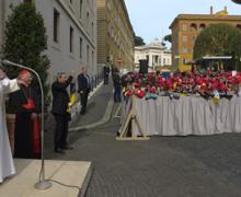 Папа Франциск подросткам из Генуи: Пресвятая Богородица приведет вас к Иисусу