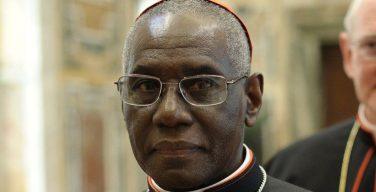 Кардинал Робер Сара в связи с поразившим Церковь кризисом сексуальных злоупотреблений призвал изучать наследие Бенедикта XVI