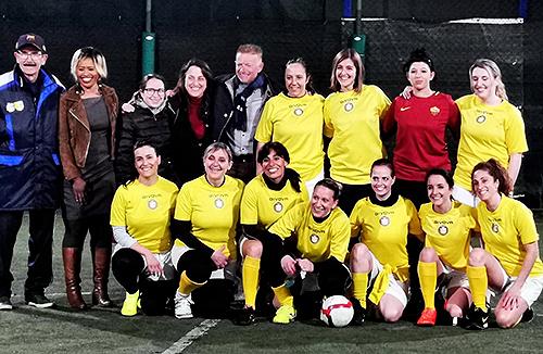 По благословению Папы Франциска в Ватикане создана первая женская футбольная команда