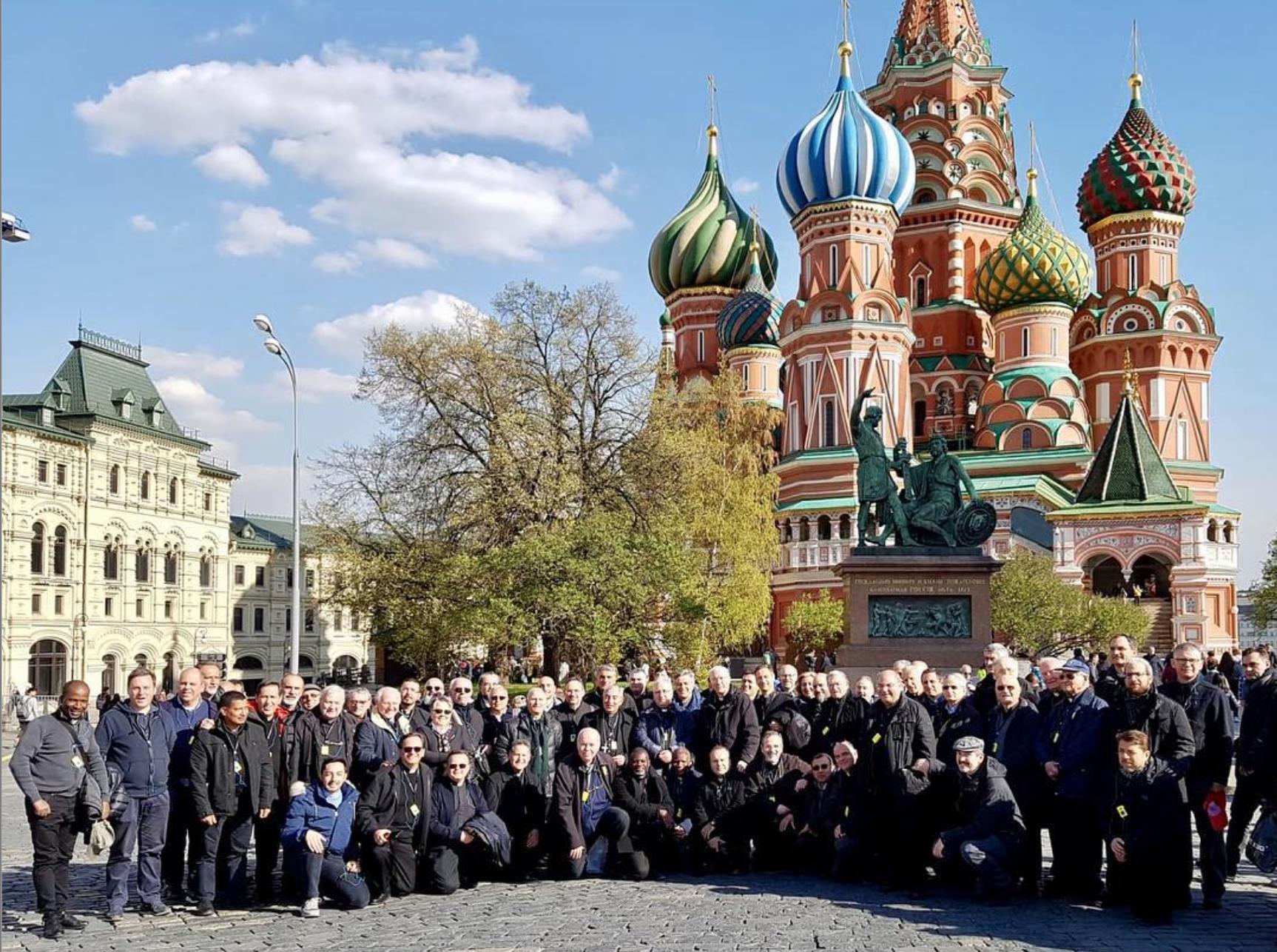 Духовенство Римской епархии совершает историческое паломничество в Москву